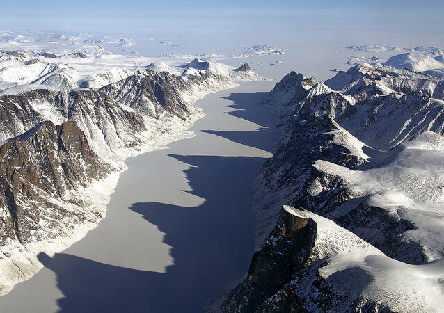 Baffin Island, Kanada. Ilustrační foto