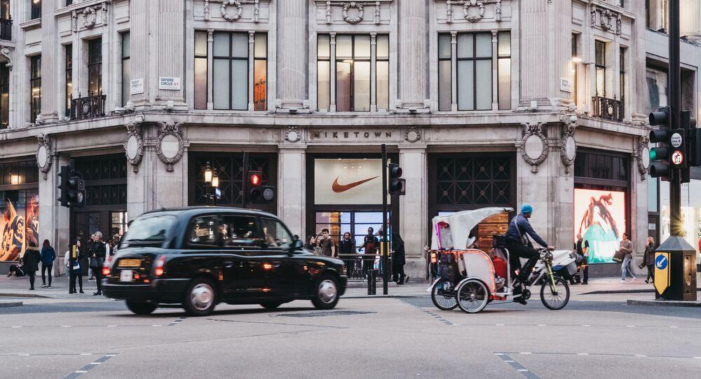 Obchod Nike v Londýně. Ilustrační foto