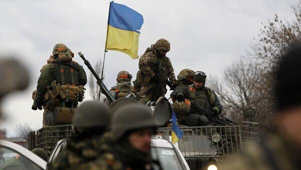Ukrajinští vojáci. Archivní foto - Sputnik Česká republika