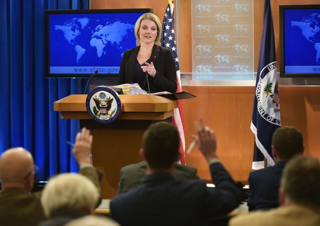 Oficiální mluvčí MZV USA Heather Nauertová
