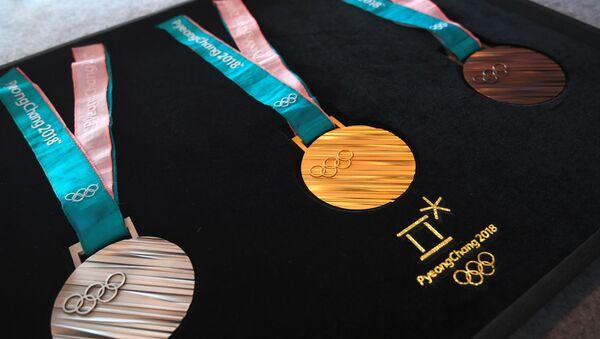 Medaile Zimních olympijských her v Pchjongčchangu - Sputnik Česká republika