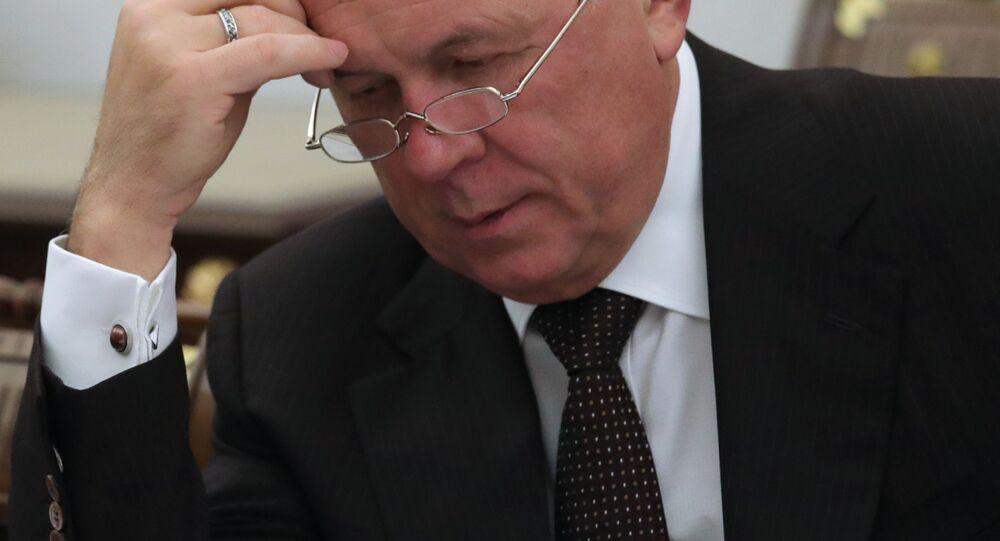 Hlavní ředitel státní korporace Rostěch Sergej Čemezov