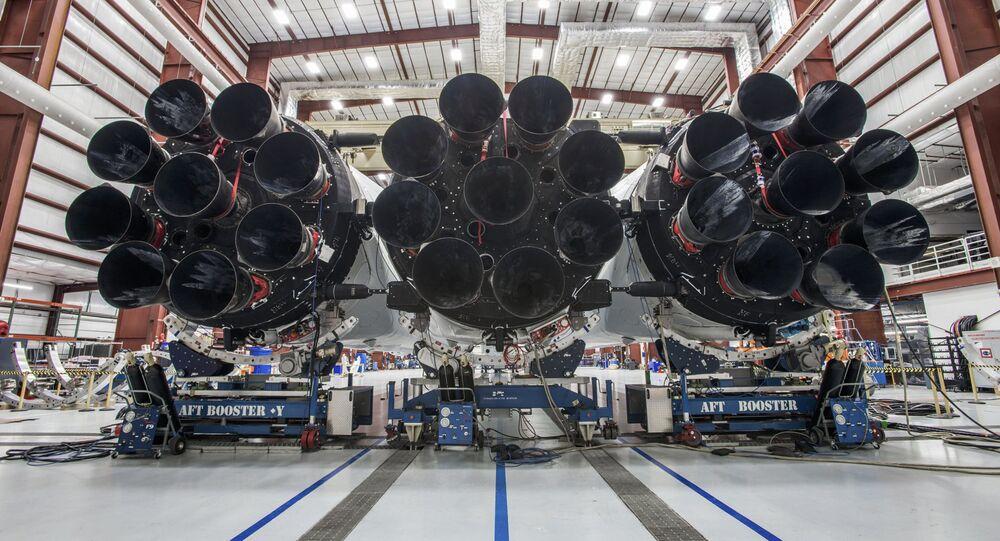 Supertěžká nosná raketa Falcon Heavy
