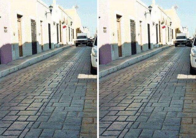 Iluze s rovnoběžnými ulicemi