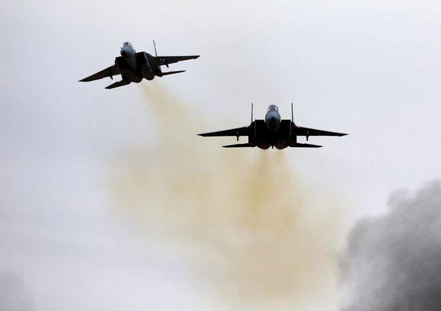 Izraelské stíhačky F-15