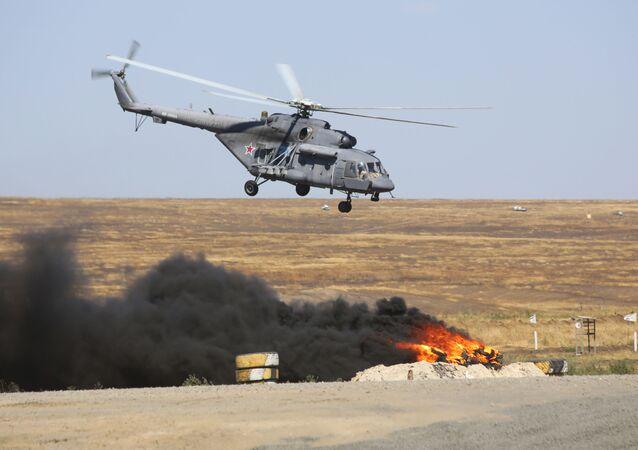 Vvrtulník Mi-8 AMTŠ