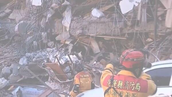 Zemětřesení na Tchaj-wanu - Sputnik Česká republika