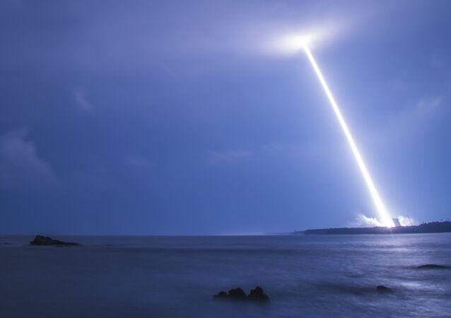 Start čínské družice