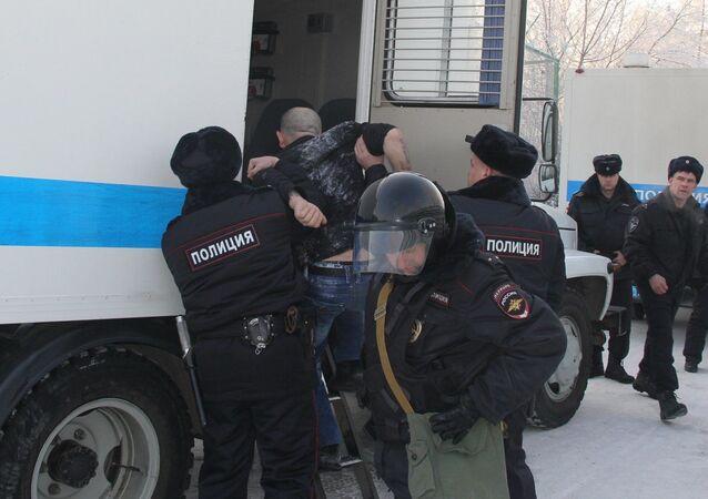 Policie v Rusku. Ilustrační foto