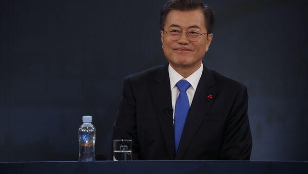 Prezident Jižní Koreje Mun Če-in - Sputnik Česká republika