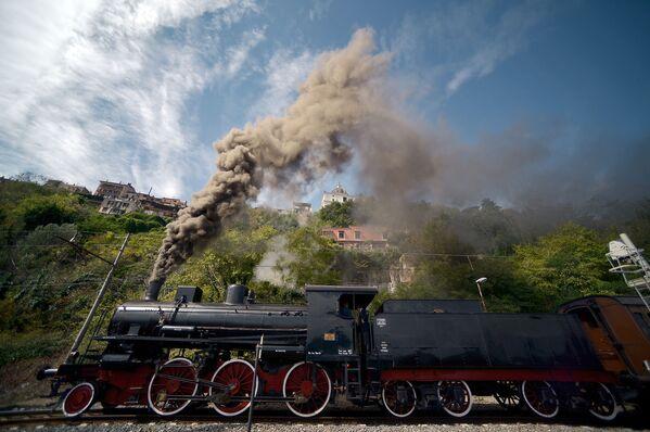 Parní lokomotivy  v provozu v různých zemích - Sputnik Česká republika