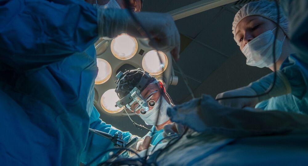 Operace v nemocnici