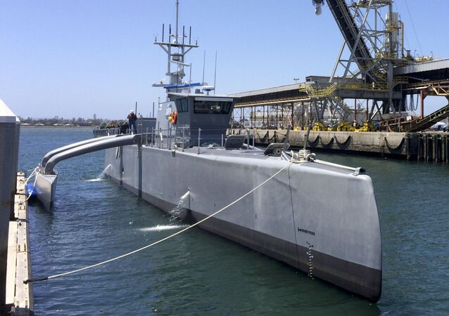 Bezpilotní člun Sea Hunter