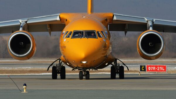 Dopravní letoun An-148. Ilustrační foto - Sputnik Česká republika