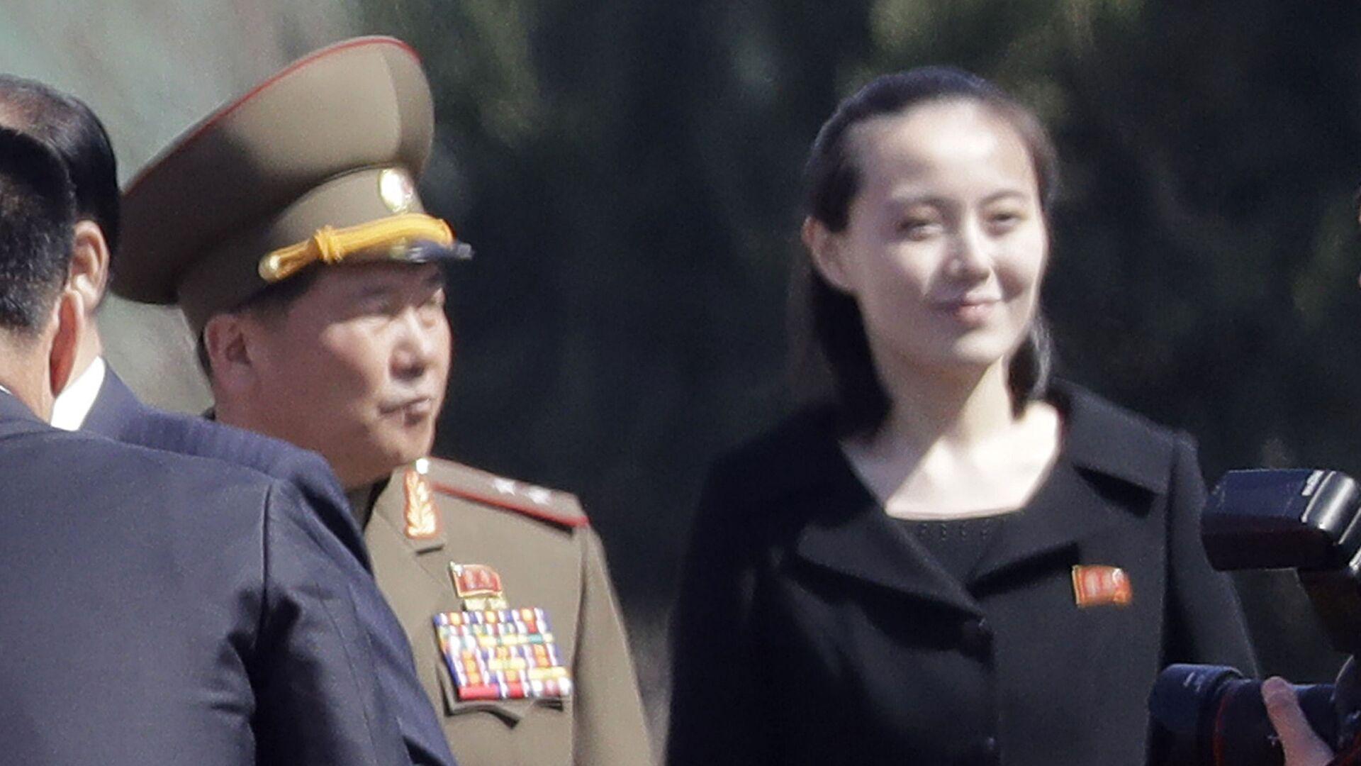 Kim Jo-čong v roce 2017 - Sputnik Česká republika, 1920, 10.08.2021