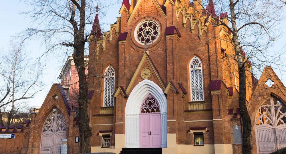 Kostel v Irkutsku. Ilustrační foto.