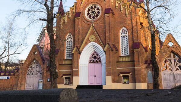Kostel v Irkutsku. Ilustrační foto. - Sputnik Česká republika