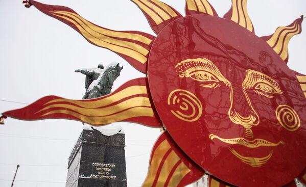 Slovanský festival palačinek: svátek Maslenica v Moskvě - Sputnik Česká republika