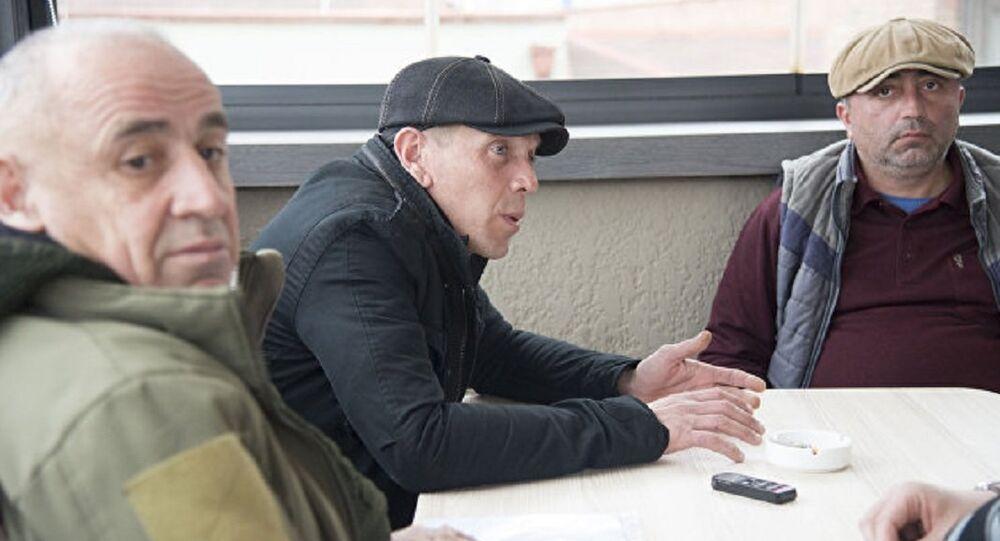 Tristan Citelašvili, Alexander Revazišvili a Koba Nergadze