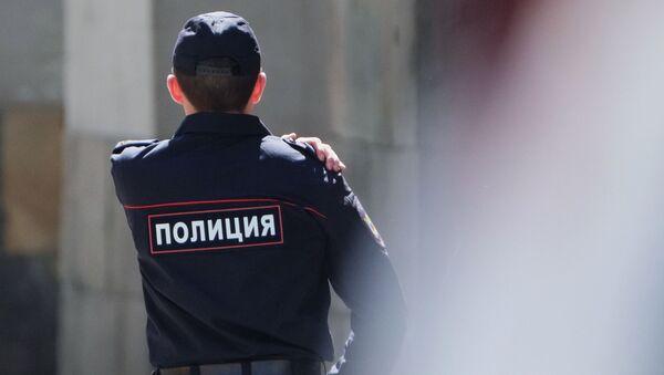Ruský policista. Ilustrační foto - Sputnik Česká republika