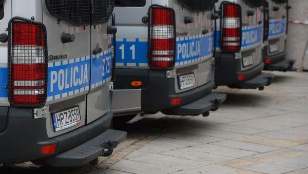 Vozy polské policie. Ilustrační foto - Sputnik Česká republika