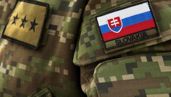 Vojenská uniforma slovenské armády - Sputnik Česká republika