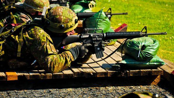Vojáci slovenské armády při cvičení - Sputnik Česká republika