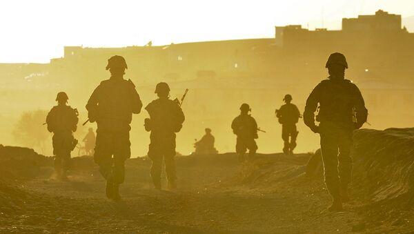 Američtí vojáci se vracejí na svou základnu u města Kalat v Afghánistánu - Sputnik Česká republika