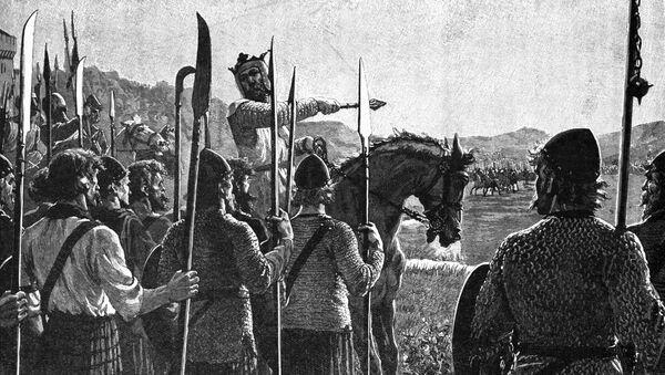 Robert Bruce před bitvou u Bannockburnu - Sputnik Česká republika