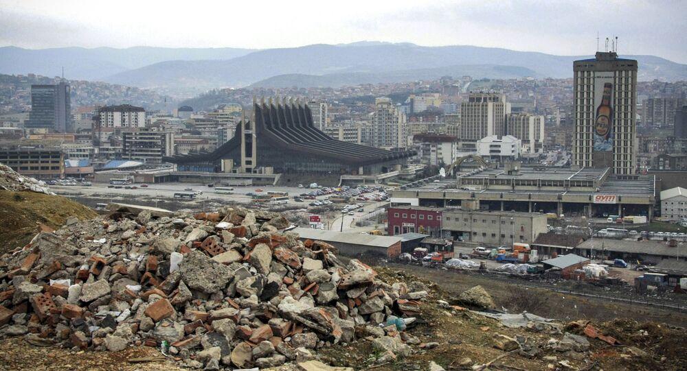 Hlavní město Kosova Priština