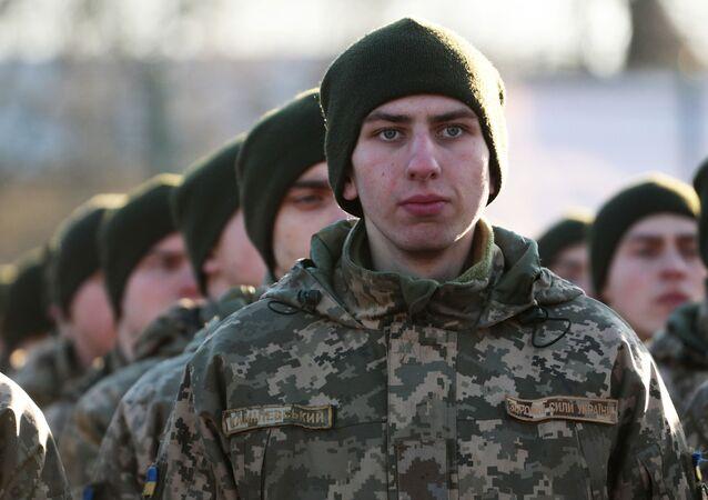 Ukrajinští vojáci