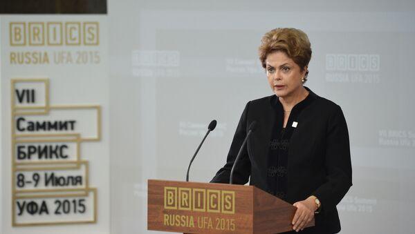 Prezidentka Brazílie Dilma Rousseffová - Sputnik Česká republika