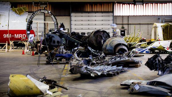 Fragmenty boeingu 777 - Sputnik Česká republika