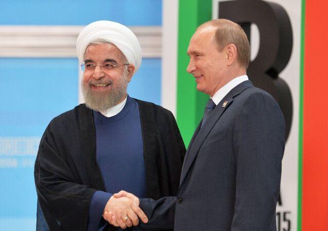 Prezidenti Ruska a Íránu
