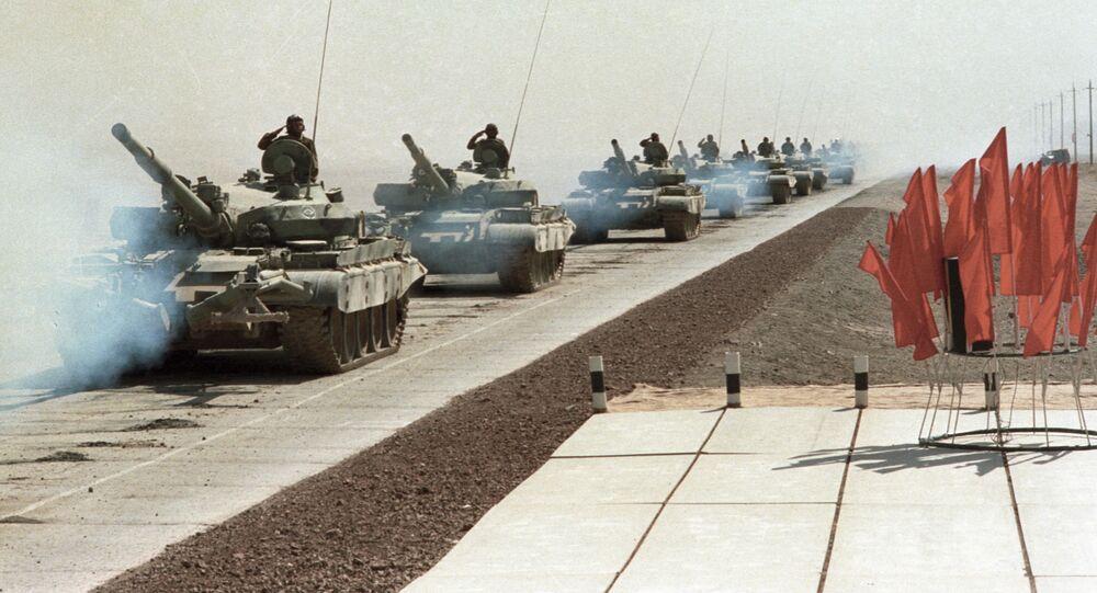 Stažení sovětských vojsk z Afghánistánu