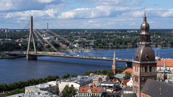 Pohled na Rigu - Sputnik Česká republika