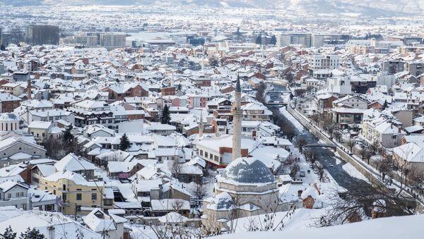 Pohled na město Prizren v Kosovu - Sputnik Česká republika