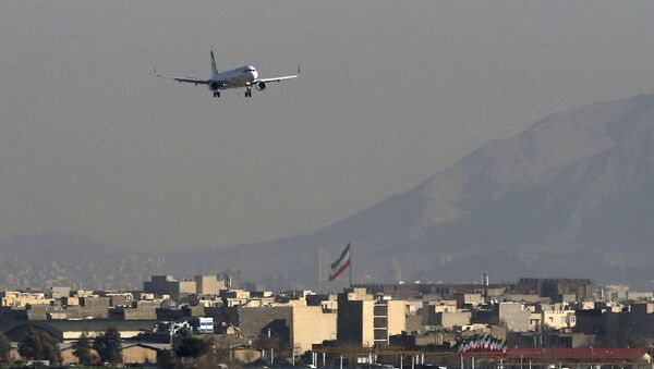 Íránský Airbus A321. Ilustrační foto - Sputnik Česká republika