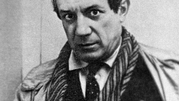 Španělský malíř Pablo Picasso - Sputnik Česká republika