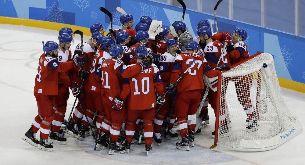 Česká radost po vítězství nad Švýcarskem