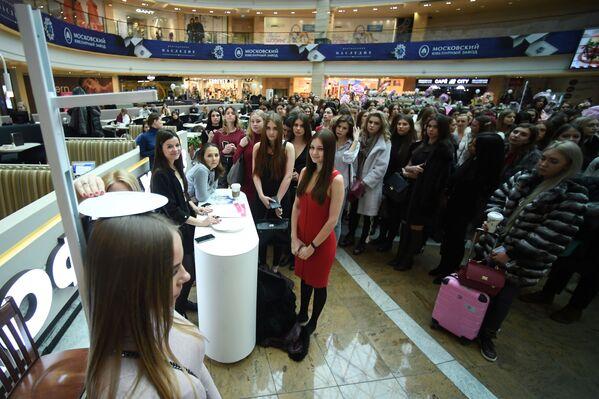 Casting soutěže krásy Miss Rusko - Sputnik Česká republika