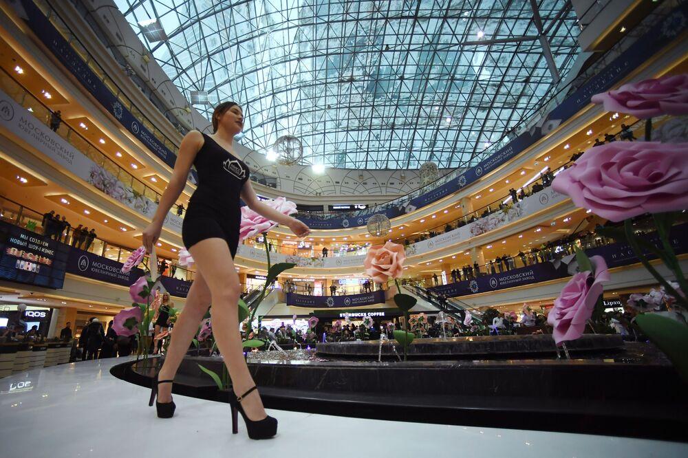 Casting soutěže krásy Miss Rusko