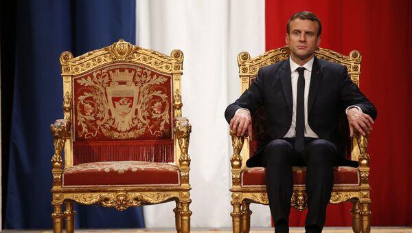 Emmanuel Macron - Sputnik Česká republika
