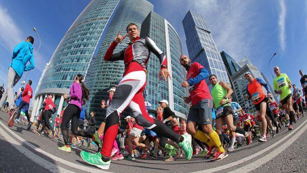 Účastníci moskevského maratonu - Sputnik Česká republika