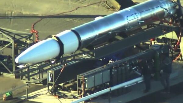 Video s tajnou americkou raketou - Sputnik Česká republika