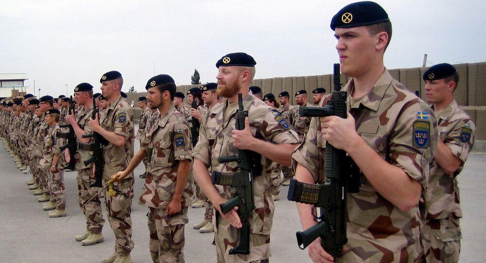 Švédští vojáci