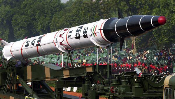 Indická balistická raketa Agni 2 - Sputnik Česká republika