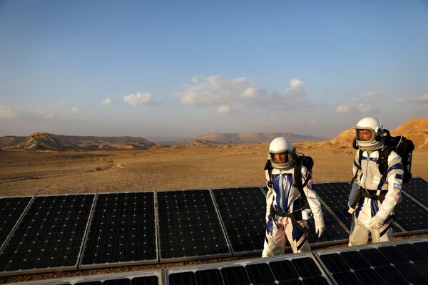 Mars na Zemi: Izraelští vědci se připravují na misi na červené planetě - Sputnik Česká republika