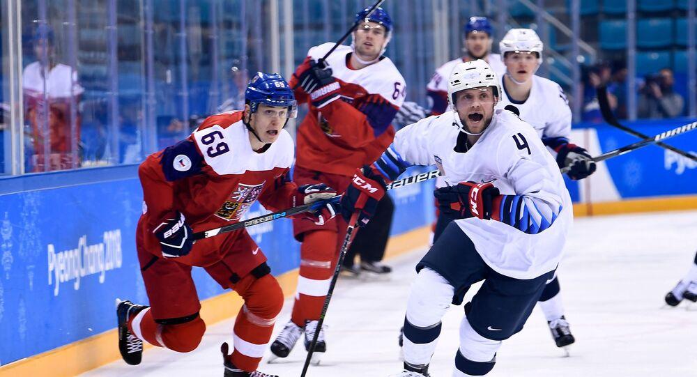 Lukáš Radil při vítězném čtvrtfinále proti USA