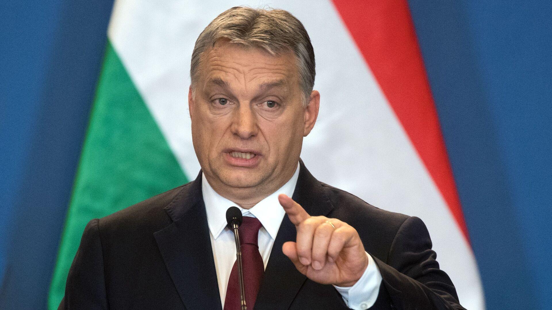 Maďarský premiér Viktor Orbán - Sputnik Česká republika, 1920, 13.07.2021